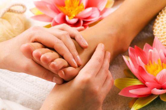 Massage détente des pieds avignon