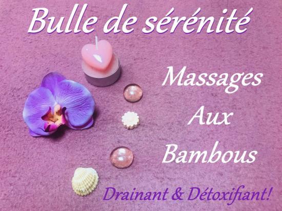 Massage aux bambous Avignon