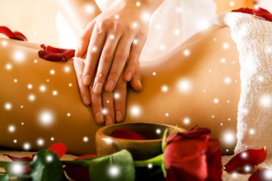 Massage neige noel