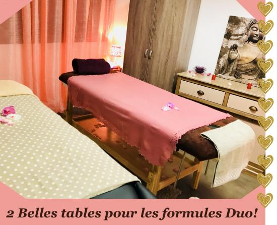 Tables massages en duo